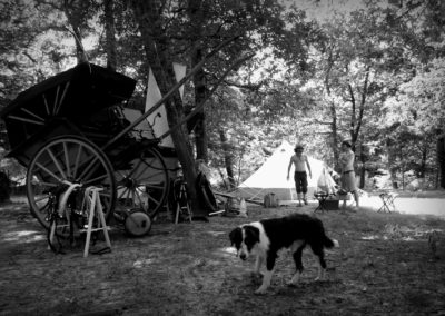 campement old style