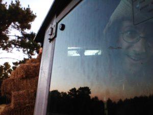 tracteur, selfie