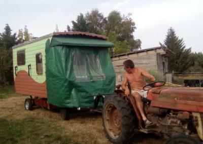 Manoeuvres au tracteur