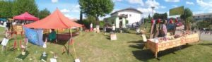 panoramic view of the  Zen area at the  Jardi'Rêve festival